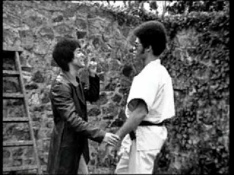 Two of my life and style mentors together. #brucelee #jimkelly
