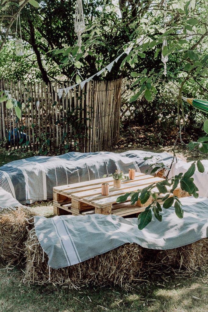 Gartenhochzeit - Inspirationen für eine unvergessliche Hochzeit vom Garten Fräulein #bell