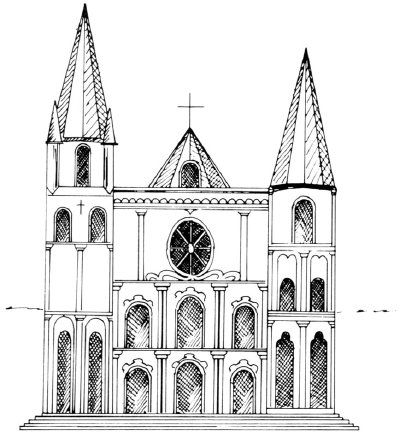 How To Draw Cathedrals In 5 Steps Architecture Drawing Art Gothic Architecture Drawing Architecture Drawing