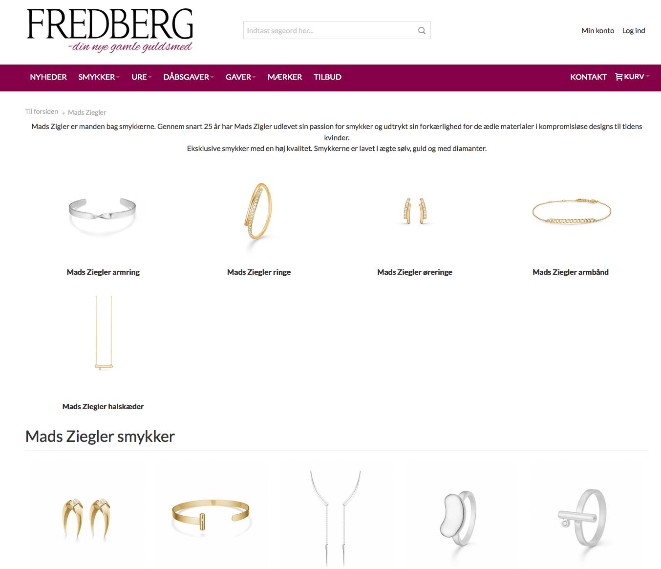 fredberg smykker