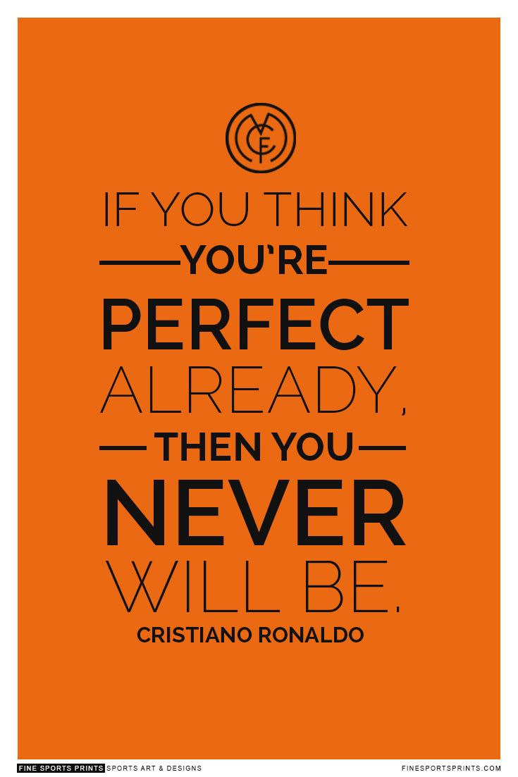 """Cristiano Ronaldo Quote on Print. See more at www.finesportsprints.com #ronaldo #sportsquote #realmadrid"""