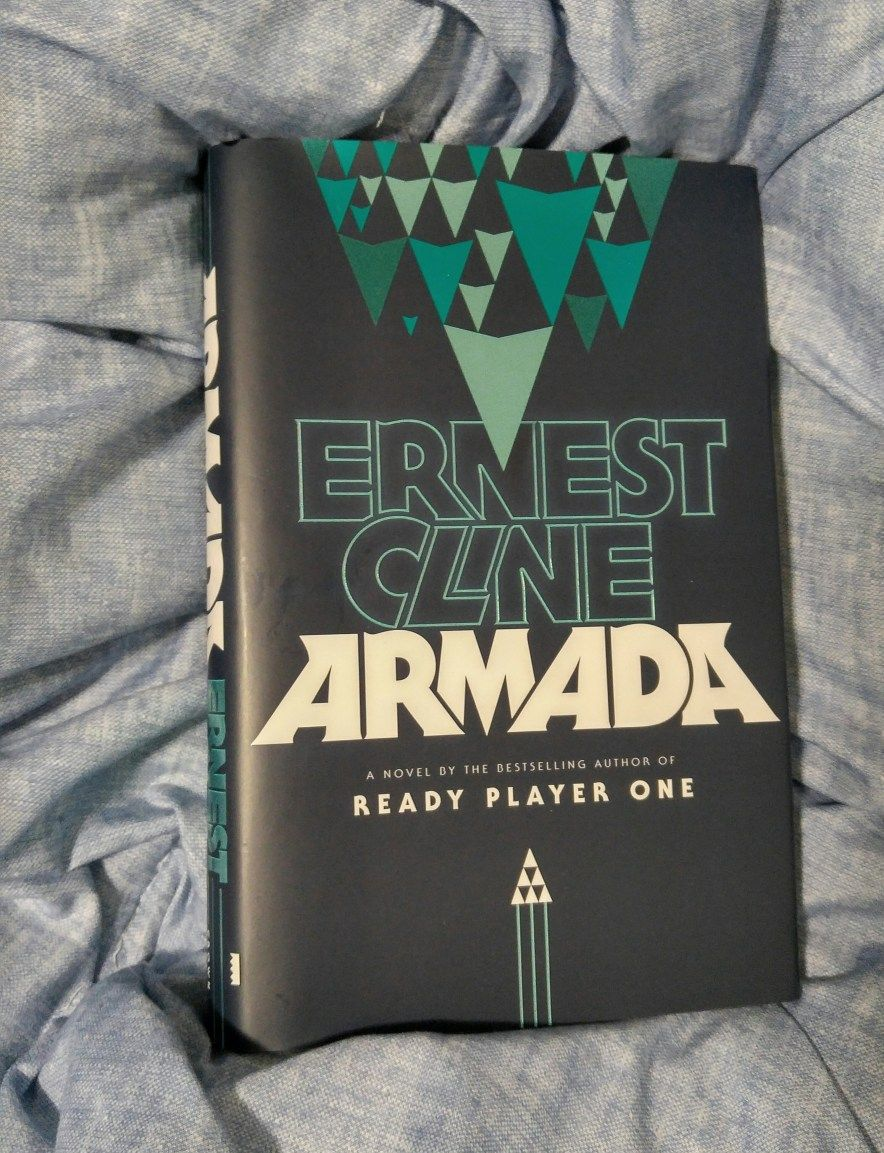 Book Review Armada By Ernest Cline Ready Player One Books Science Fiction Books