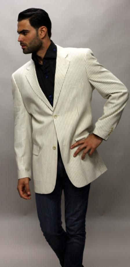 0c10ab2b3 White sportcoat,Beige 100% Linen Sport Coat 2 Button a Must Have Jacket for  only US$89 Buy more save more!, Buy 3 items get 5% off, Buy 8 items get 10%  off.