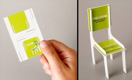 Chair Business Card