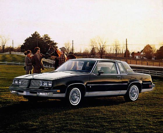 1984 Oldsmobile Cutlass Supreme Brougham Coupe Oldsmobile Old School Cars Oldsmobile Cutlass