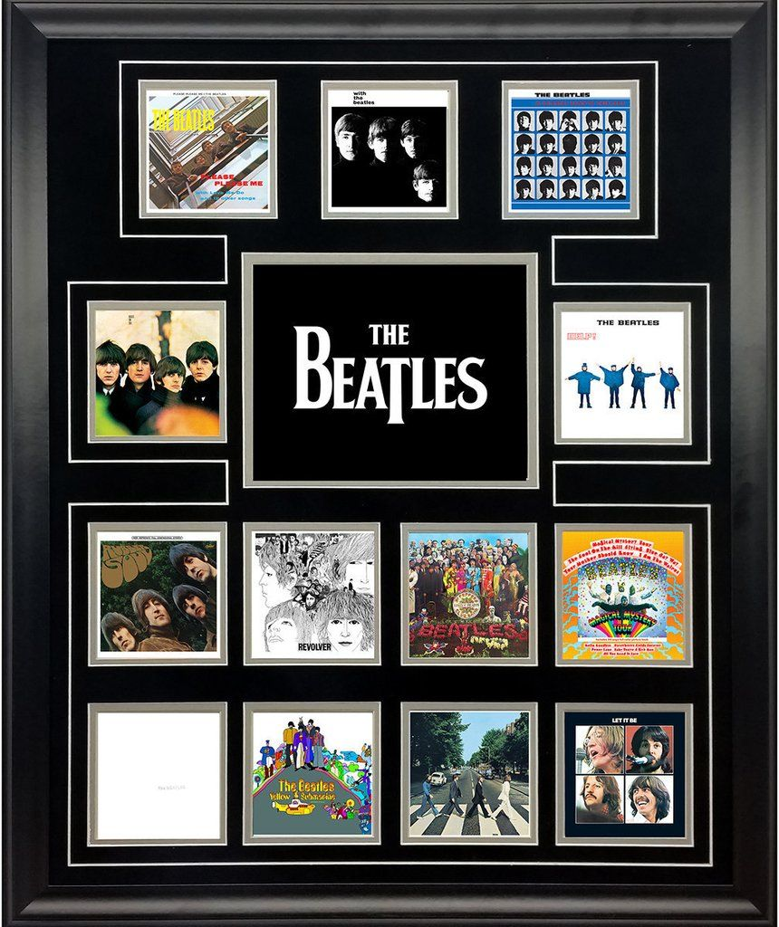 The Beatles Uk Album Discography Collage Beatles Art Beatles Albums The Beatles