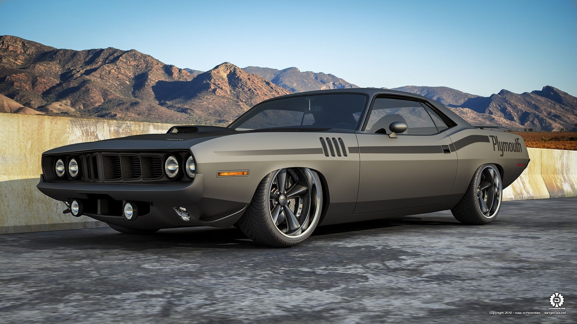 Muscle Car wallpaper | Cuda | Pinterest | Muscles, Cars and Car ...