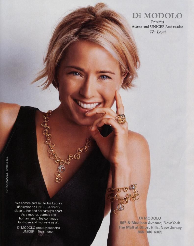 tea leoni haircut t 233 a leoni pelo sonrisa hair hair style 2536