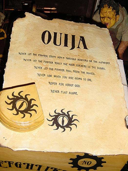 how old to play ouija board