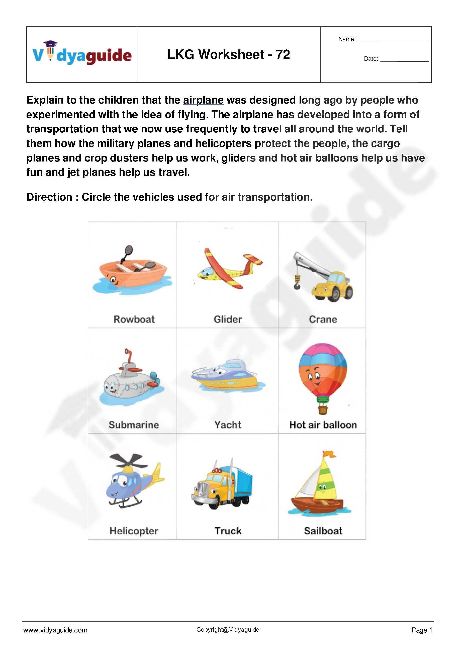 Lkg Worksheets Set 15