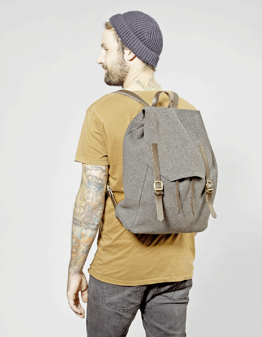 "CUT Magazine #8 - Rucksack ""too cool for school"" zum Nachnähen / Pattern for Backpack."