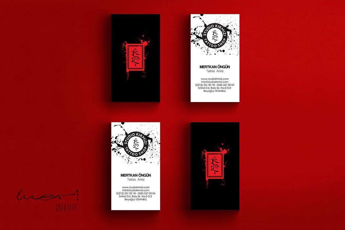 Kartvizit tasarm business card studio kirmizi tattoo shop kartvizit tasarm business card magicingreecefo Image collections