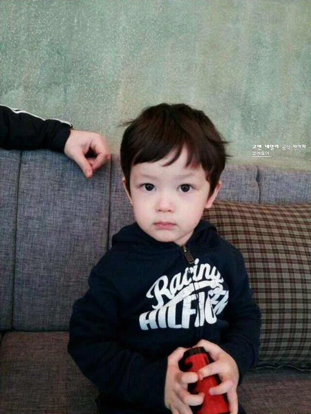 Cute mixed Asian baby!