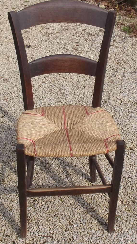 Herringbone Weave antique vintage old Chair Seat Weaving for Antique Chairs