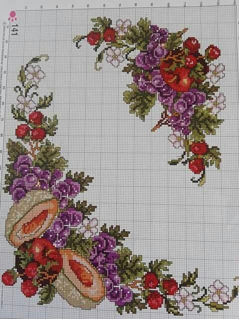 Pin de Victoria Handmade Creations en Κεντήματα για κουζίνα ...