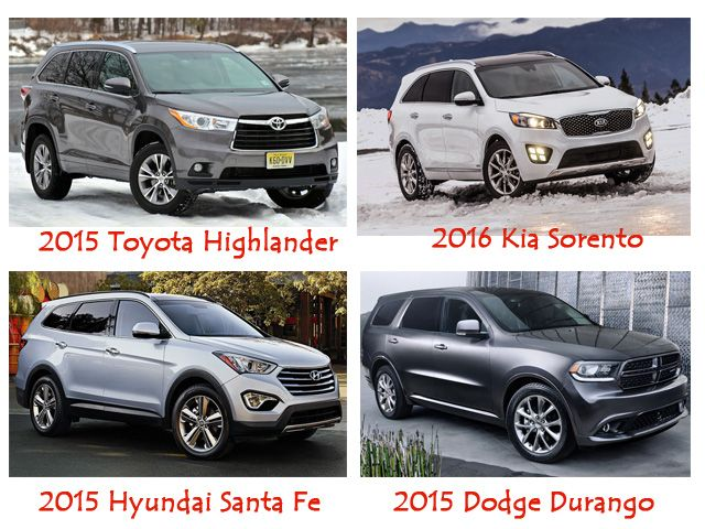 SUVS with Third Row Seating for Family Adventure | Cars | Pinterest ...