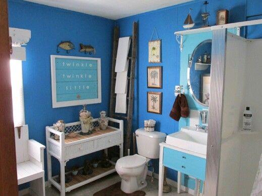 Repurposed Bathroom Ideas: Repurposed Bathroom In Our 100 Yr Old Farm House. Sink