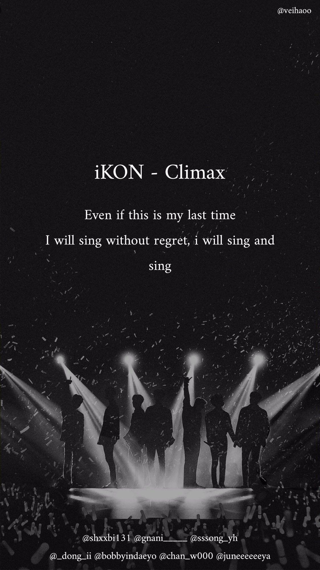 Ikon Climax Kutipan Lirik Lirik Lagu Kata Kata Indah Aesthetic ikon lyrics wallpaper