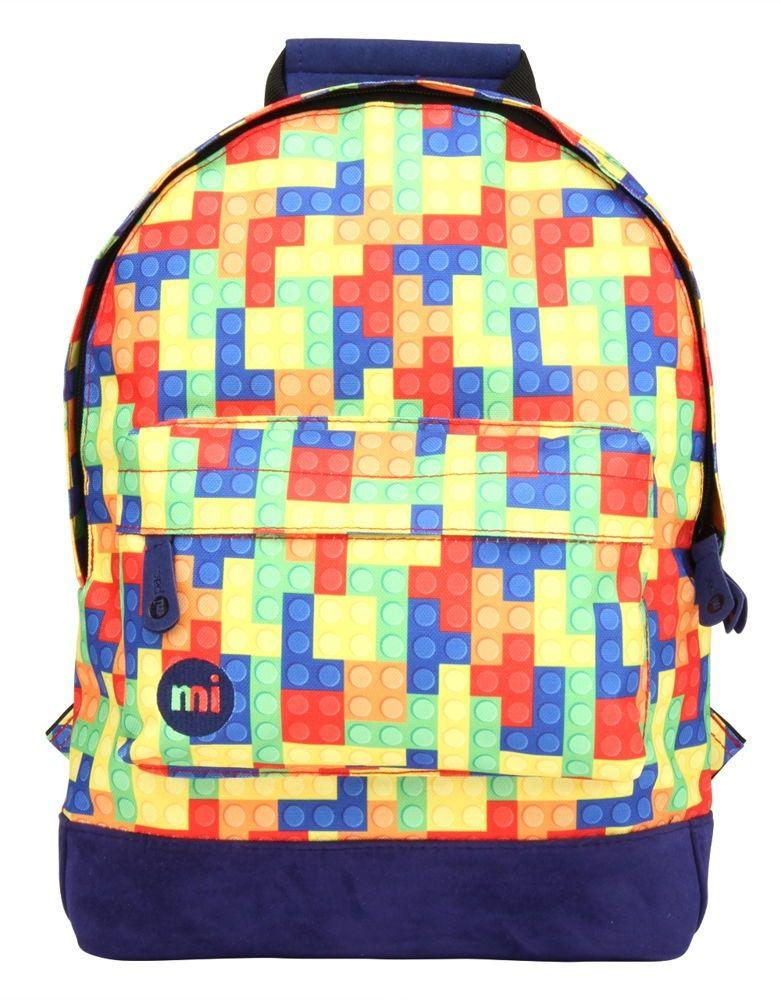 9382dba53d6 Mi-Pac Building Blocks Mini Kinder Rugzak - Gekleurd | Shop4Rugzakken