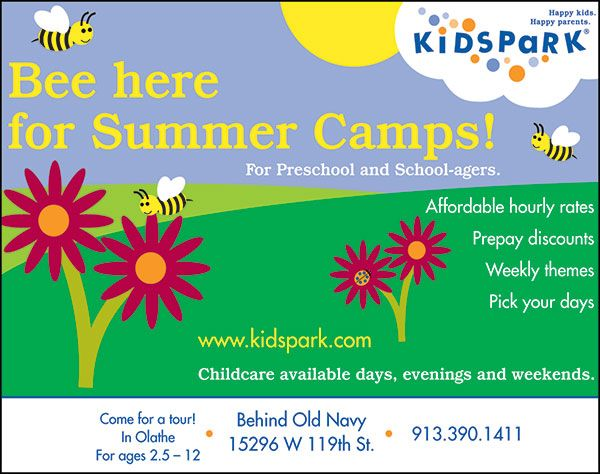 Kids Park provides flexible summer camps for children of all ages!!  // For more family resources visit www.ifamilykc.com! :)