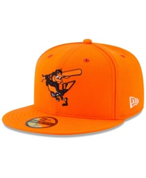 New Era Boys  Baltimore Orioles Players Weekend 59FIFTY Fitted Cap - Orange  6 a8cb44253b0