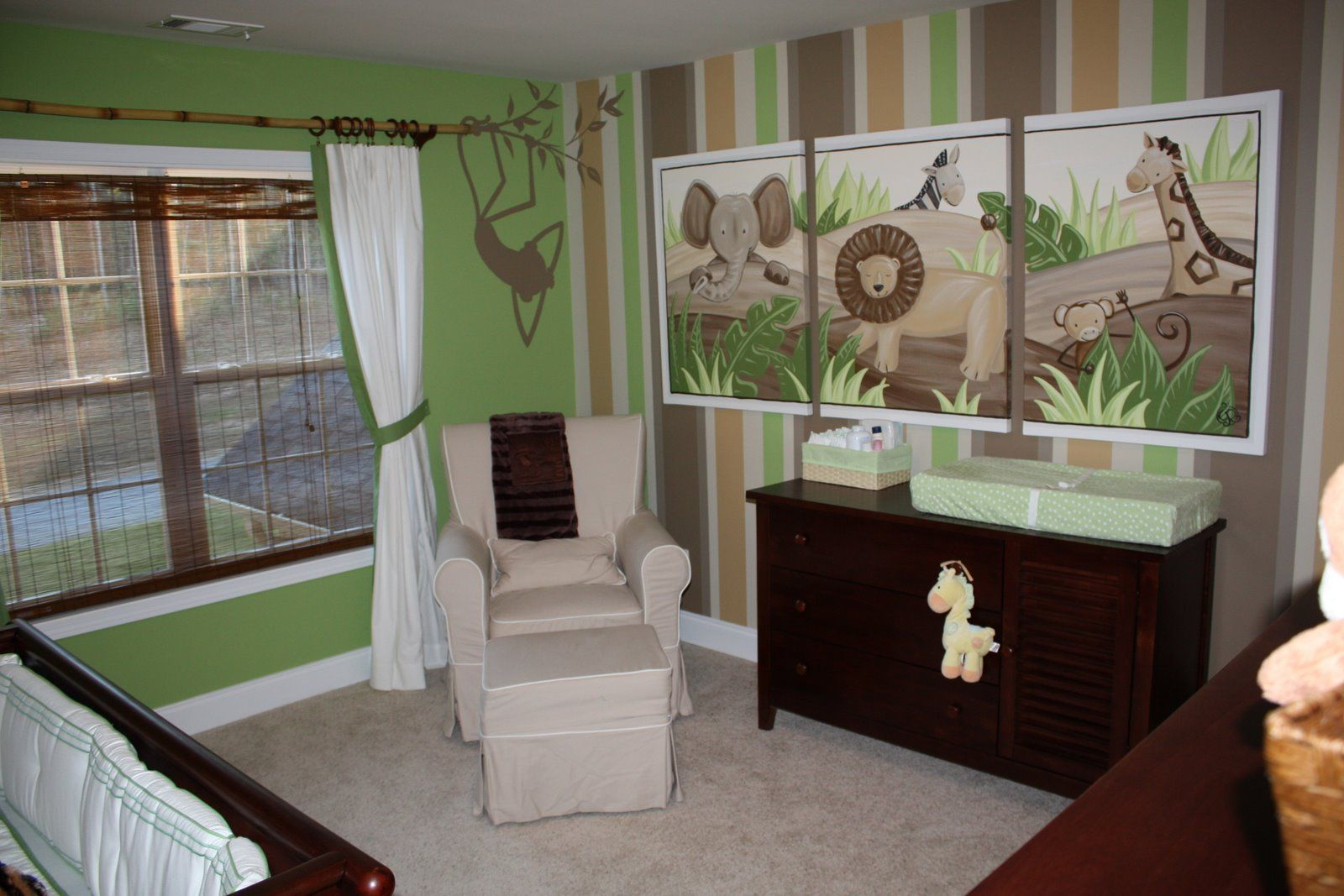 Awesome White Green Wood Glass Modern Design Nursery Ideas For Boys Baby  Boy Windows Rail Wood. Awesome White Green Wood Glass Modern Design Nursery Ideas For