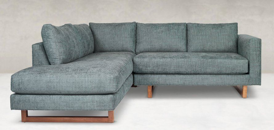 The Beam Sectional As Soon As They Catch Sight Of Those Cloud Like Cushions Resting Over Big Be Furniture Contemporary Furniture Stores Contemporary Furniture