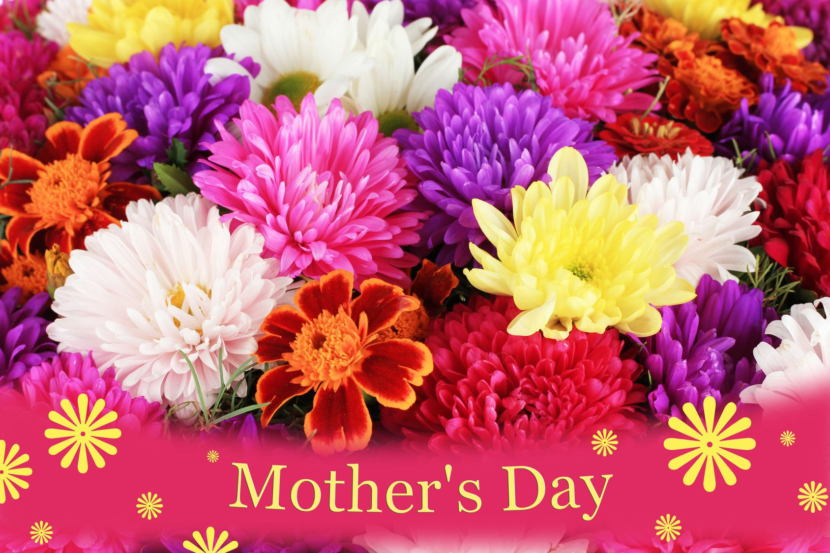 Pictures Of Happy Mothers Day Flowers