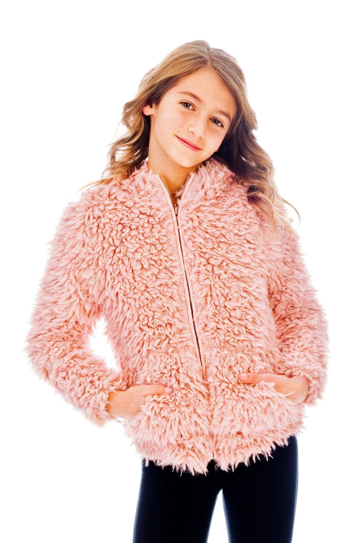 Faux fur hoodie rose faux fur hoodie fur hoodie