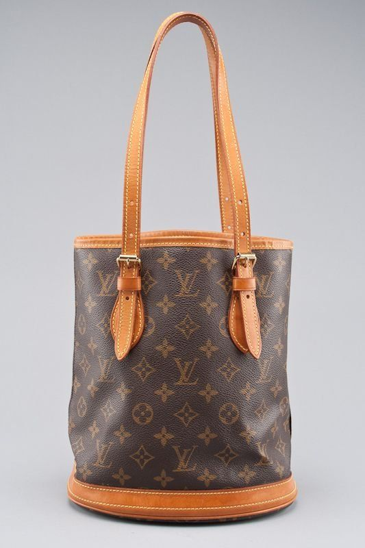 11f315084466 Louis Vuitton Monogram Canvas Petite Bucket Bag on