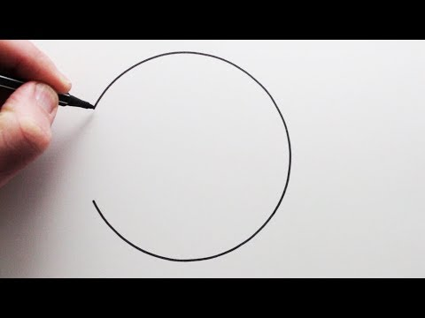 4 How To Draw A Perfect Circle Freehand Narrated Step By Step Youtube In 2020 Circle Drawing A Perfect Circle Youtube Art Tutorials