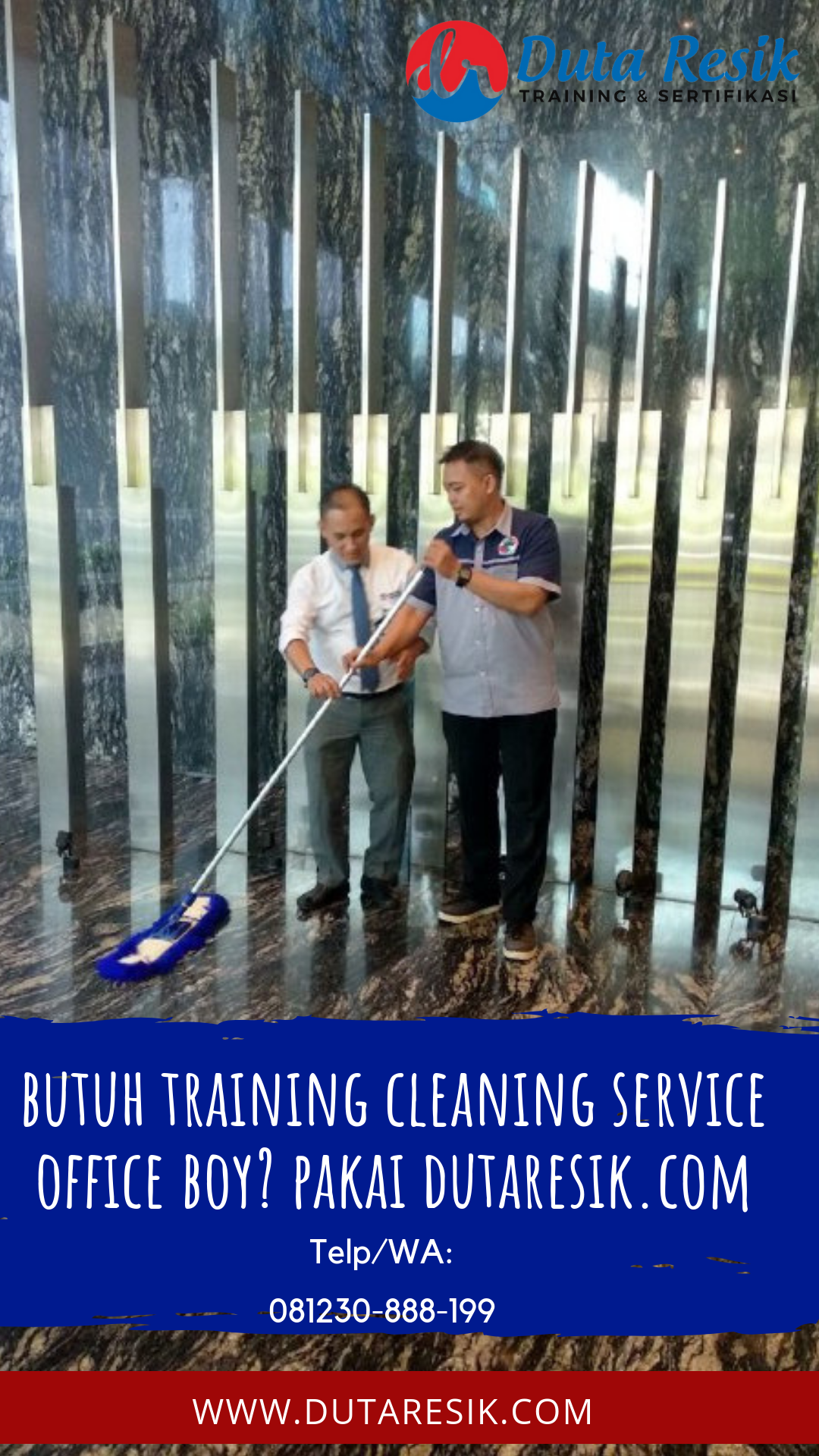 Jasa Trainin Cleaning Service Office Boy Latihan, Indonesia