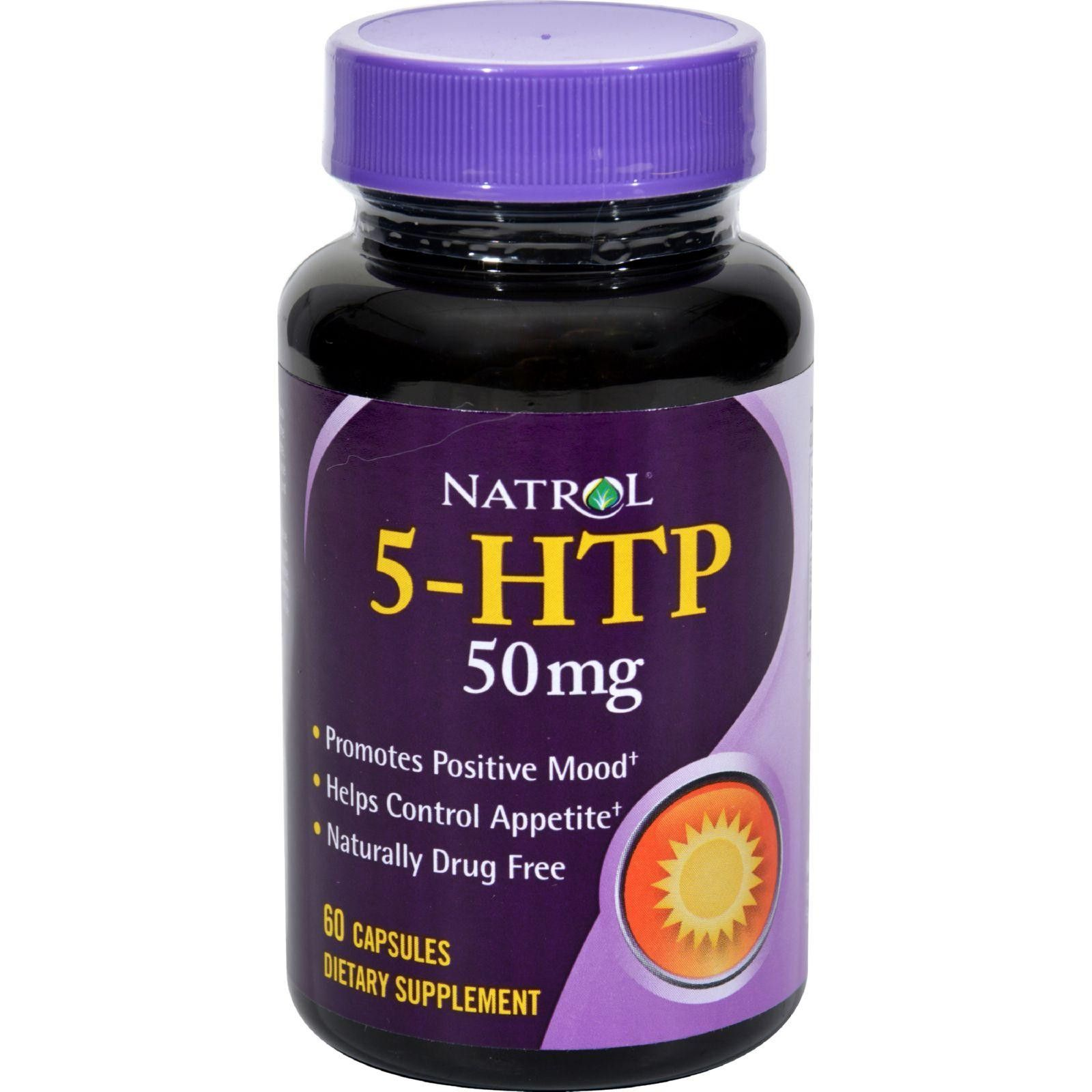 Natrol 5htp 50 Mg 60 Capsules Products Pinterest