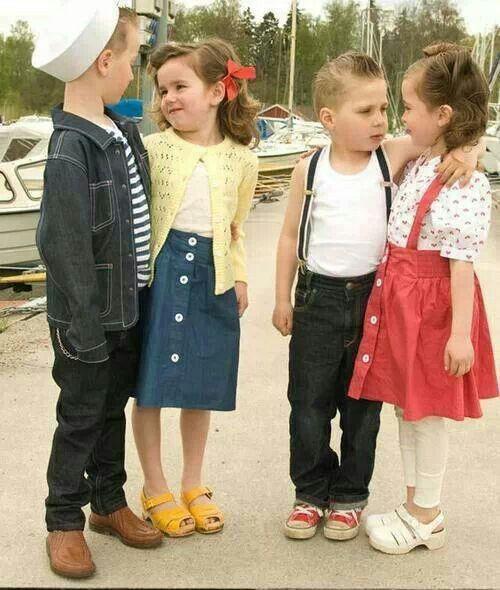 Kids Fashion Sweden Family Photos Kinder Kleidung Rockabella