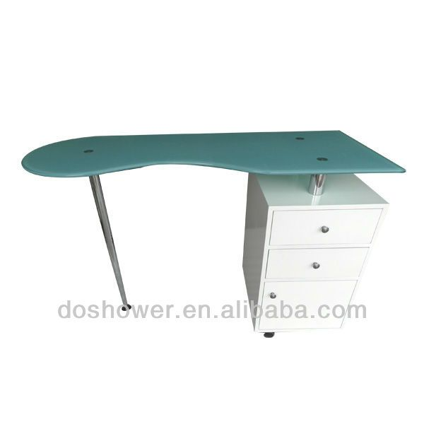 Manicure table /nail salon furniture /nail dryer table /used nail ...