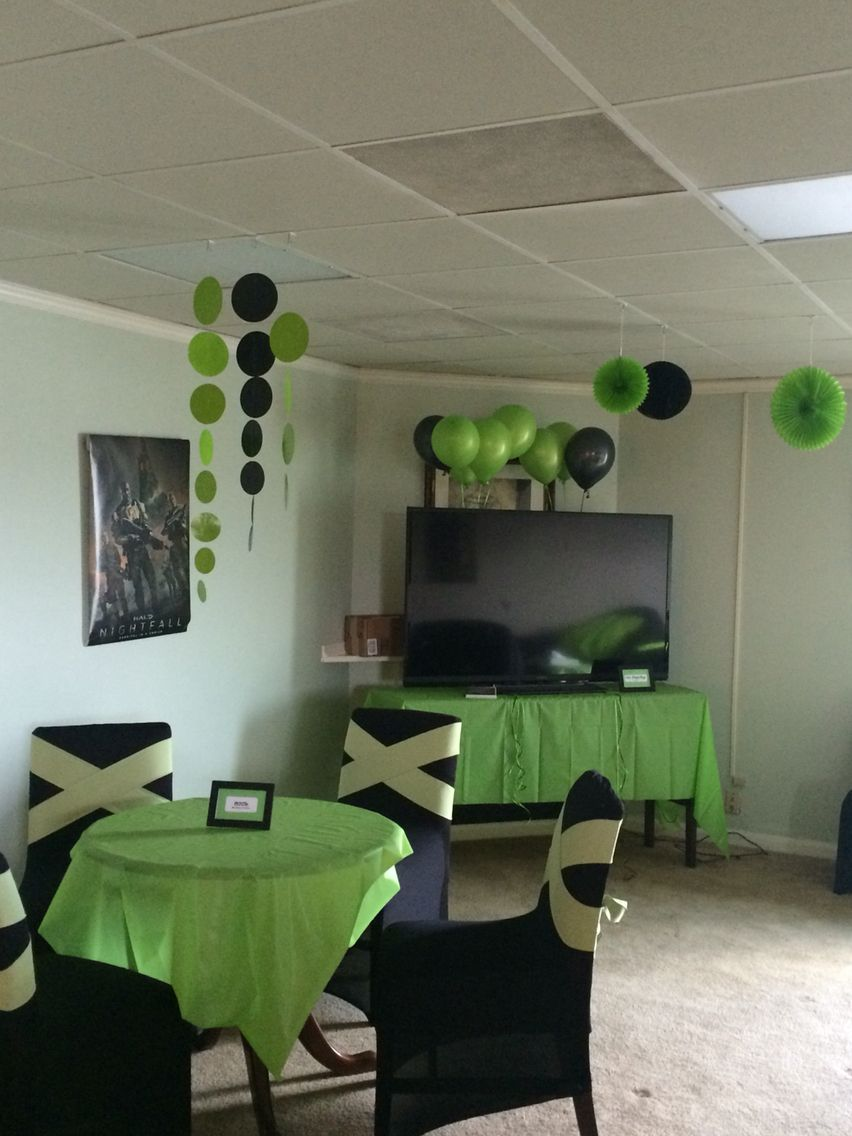 Xbox Gamer Party Game Party Pinterest 13 Cumpleanos Ideas