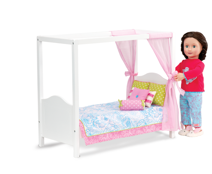 My Sweet Canopy Bed Our Generation Dolls 46 99 Our