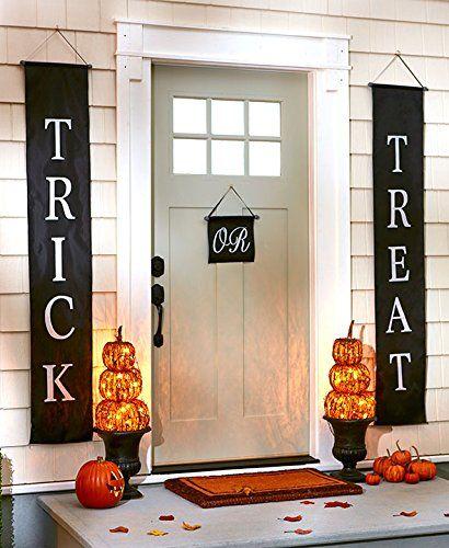 Primitive Rattan Stacked Pumpkins Fall Halloween Thanksgi   - halloween decorations for cheap