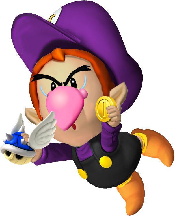 Baby Waluigi Mario Bros Mario Y Bebe