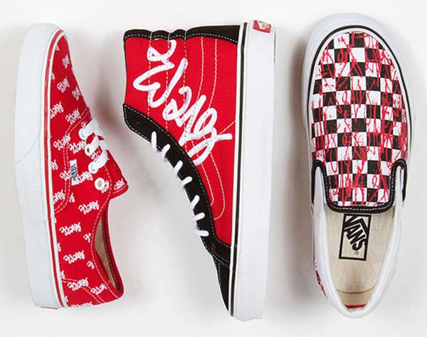 Lovable Graffiti Sneakers | Vans