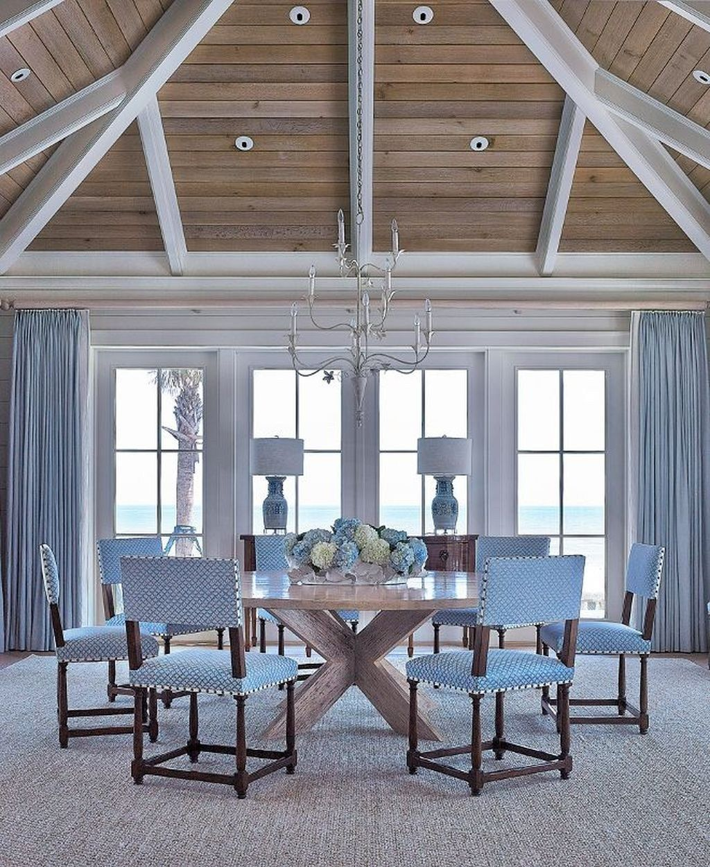 Beach Home Interior Design Ideas: 50 Amazing Nautical Dining Room Decor Ideas