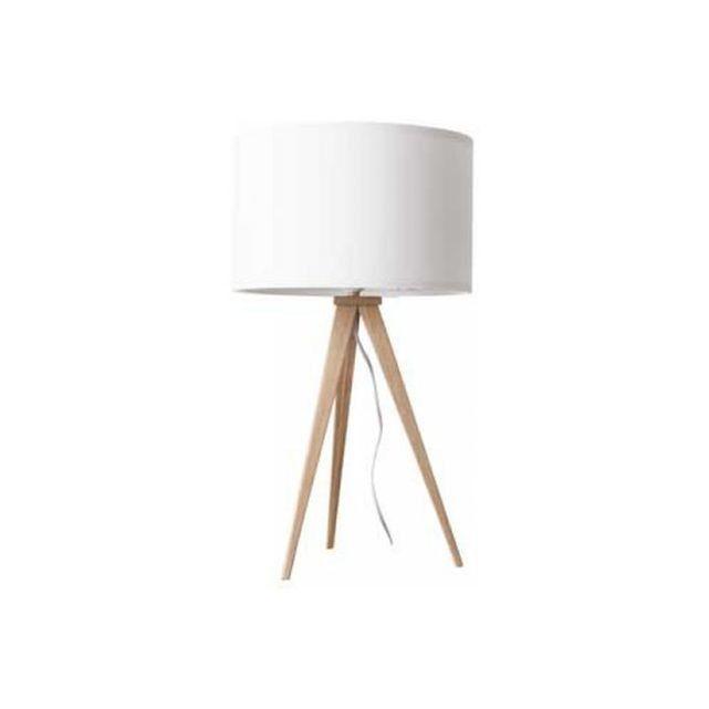 Lampe à poser design TRIPOD WOOD - deco zuiver ZUIVER   La Redoute Mobile
