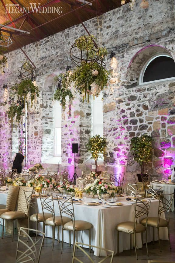 Industrial wedding with hanging greenery greenery industrial and hanging greenery chandeliers wedding chandeliers elegantwedding mozeypictures Choice Image