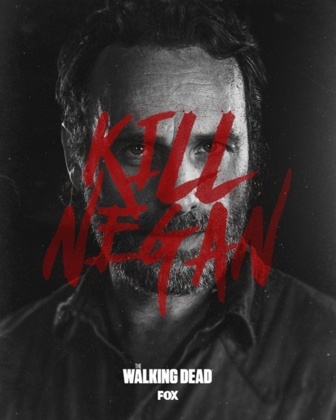 Season 8b Poster Kill Negan Walking Dead Series The Walking