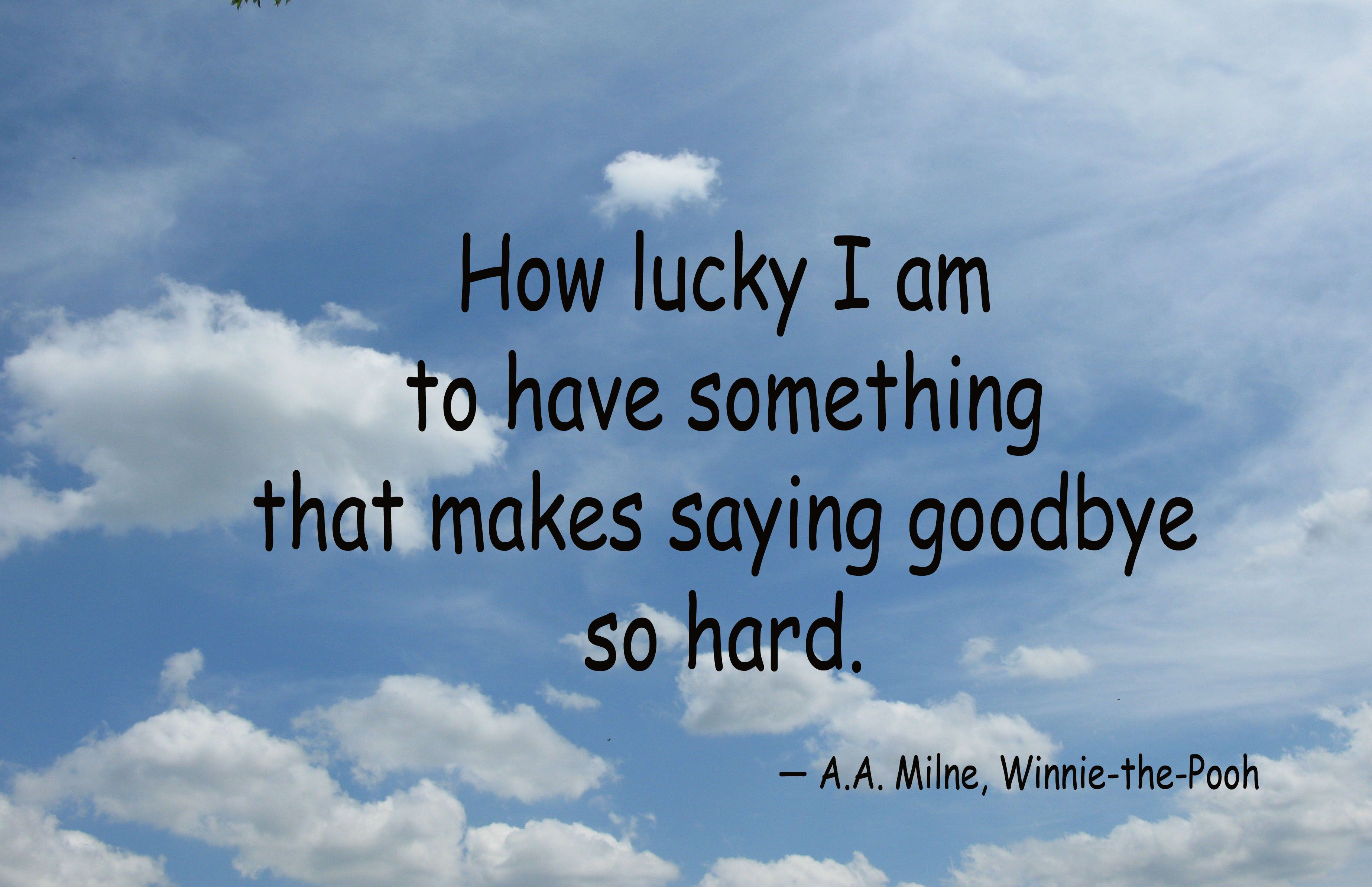 hard to say goodbye quotes 'n words Pinterest