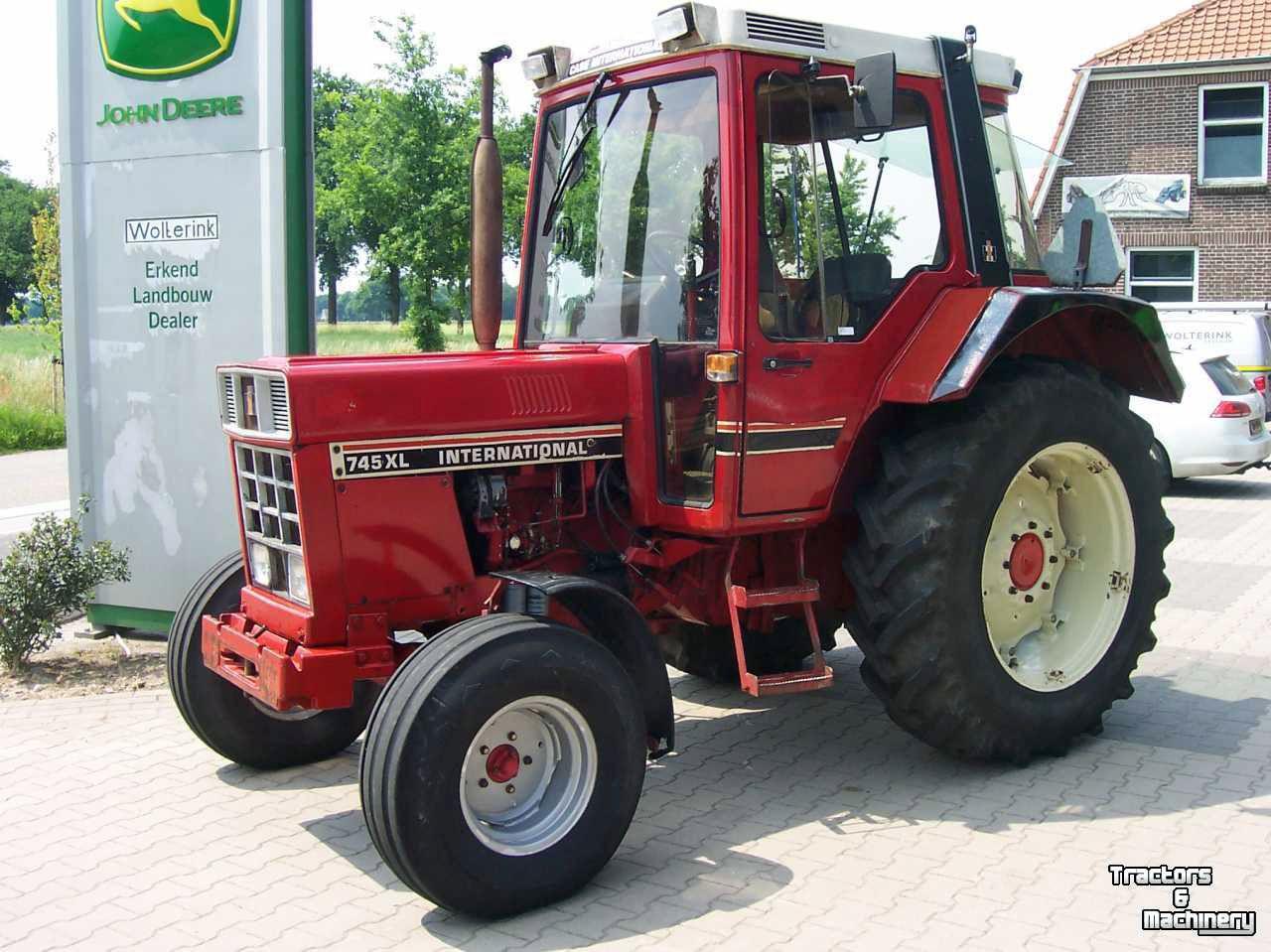 International 745xl Landbouw