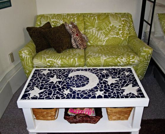 Beautiful Make Your Own Mosaic Coffee Table... Yes Please! Cute Dorm RoomsDorm ... Part 20