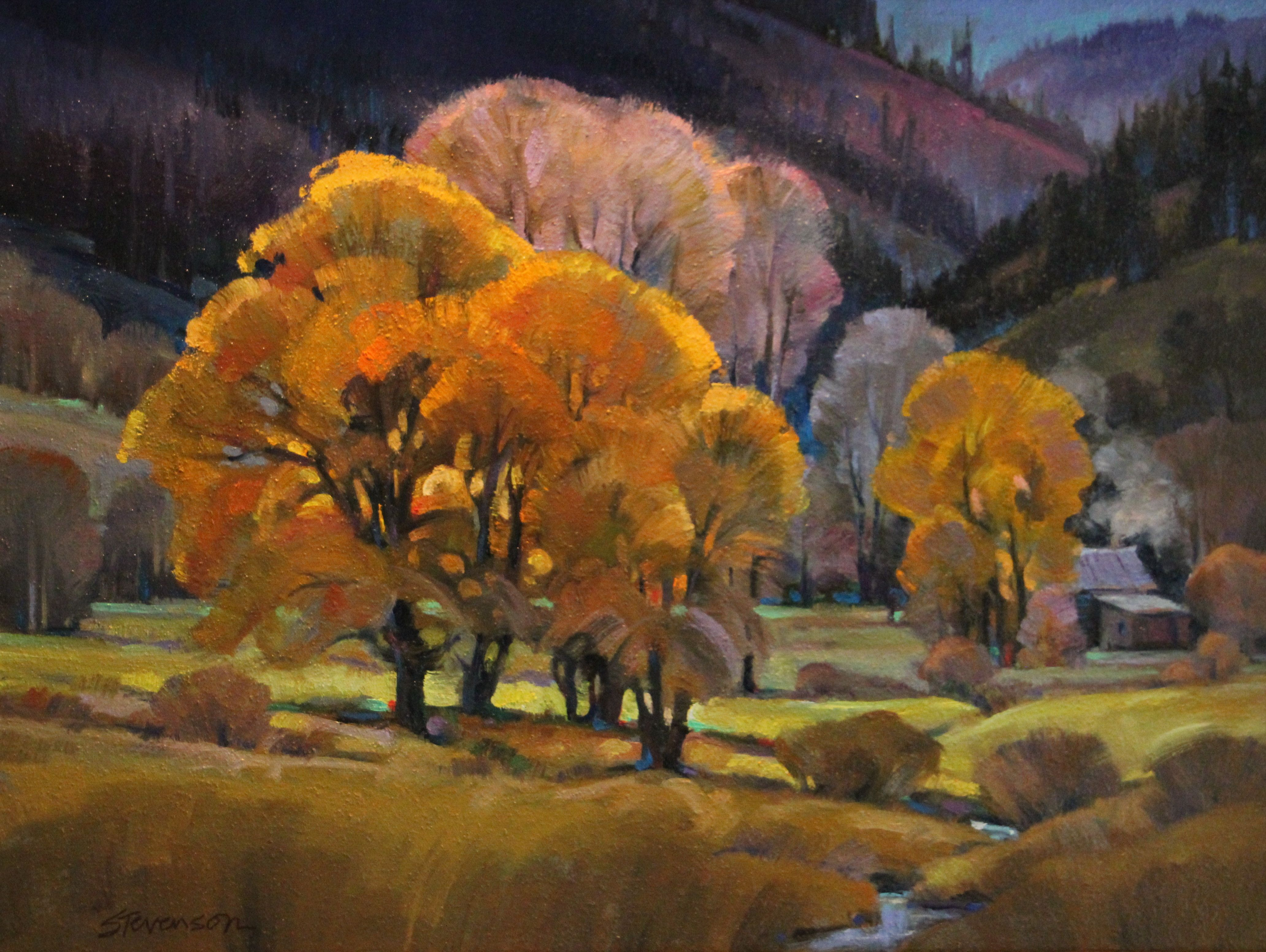 1917 California Headlands - George Bellows | Art, American ...  |1950s American Realism Art Landscapes
