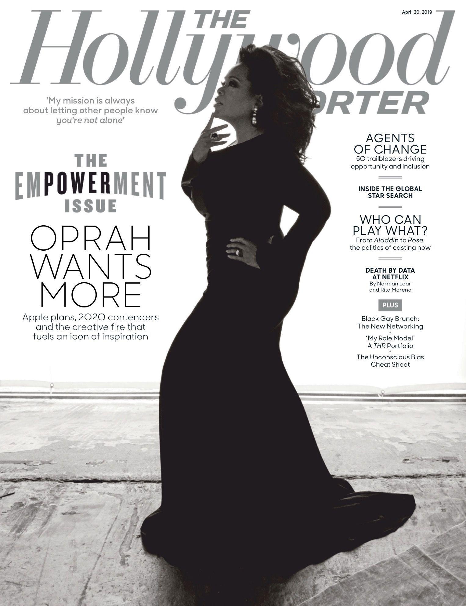 Oprah Winfrey For Thr