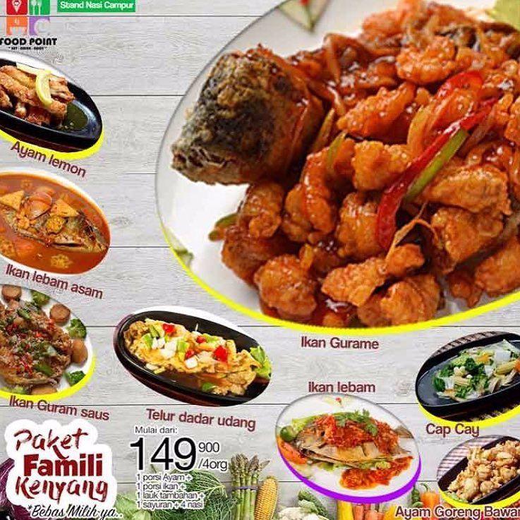 [Food Point Paket Keluarga] Paket Keluarga Ber4 mulai